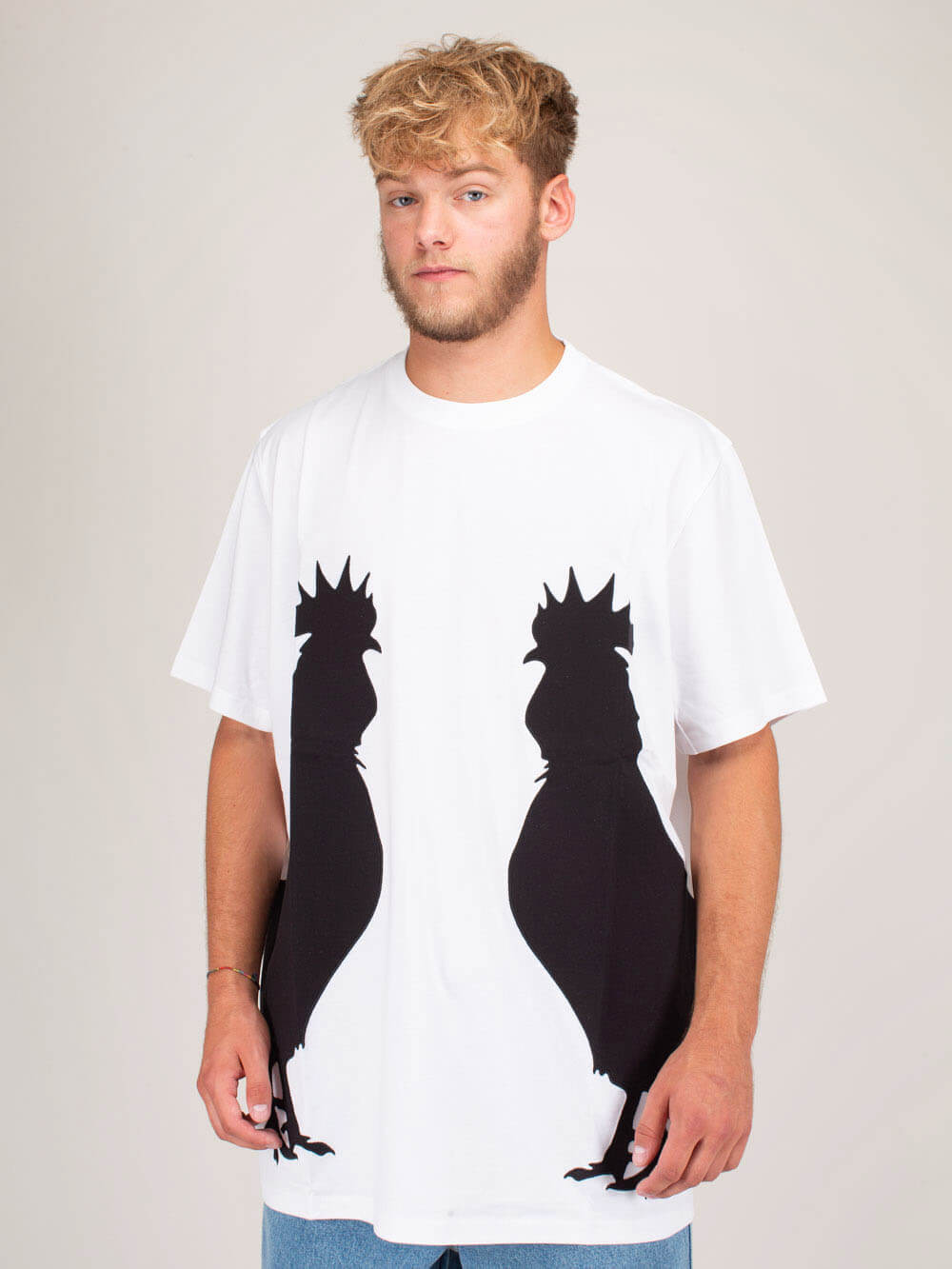 Loewe Cottons ROOSTER T-SHIRT WHITE
