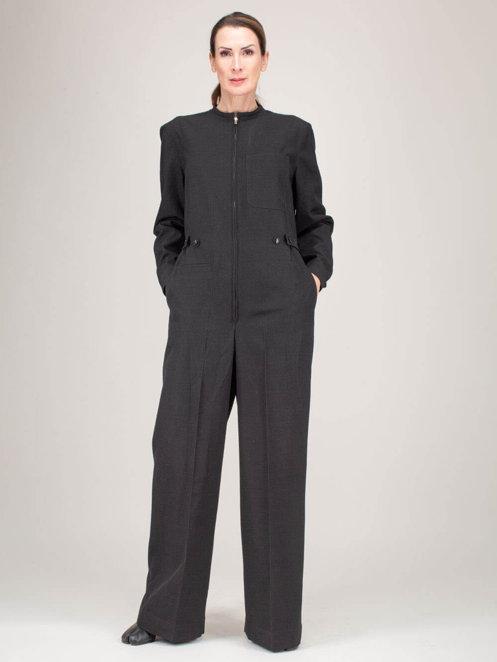 Lemaire JUMPSUIT ANTHRACITE