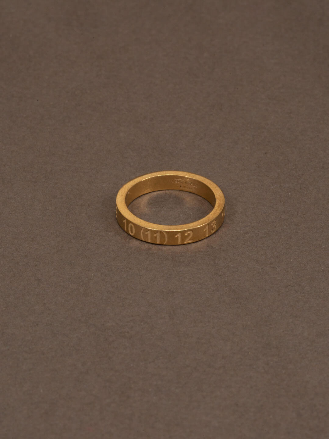 Maison Margiela Small Ring Gold In Other