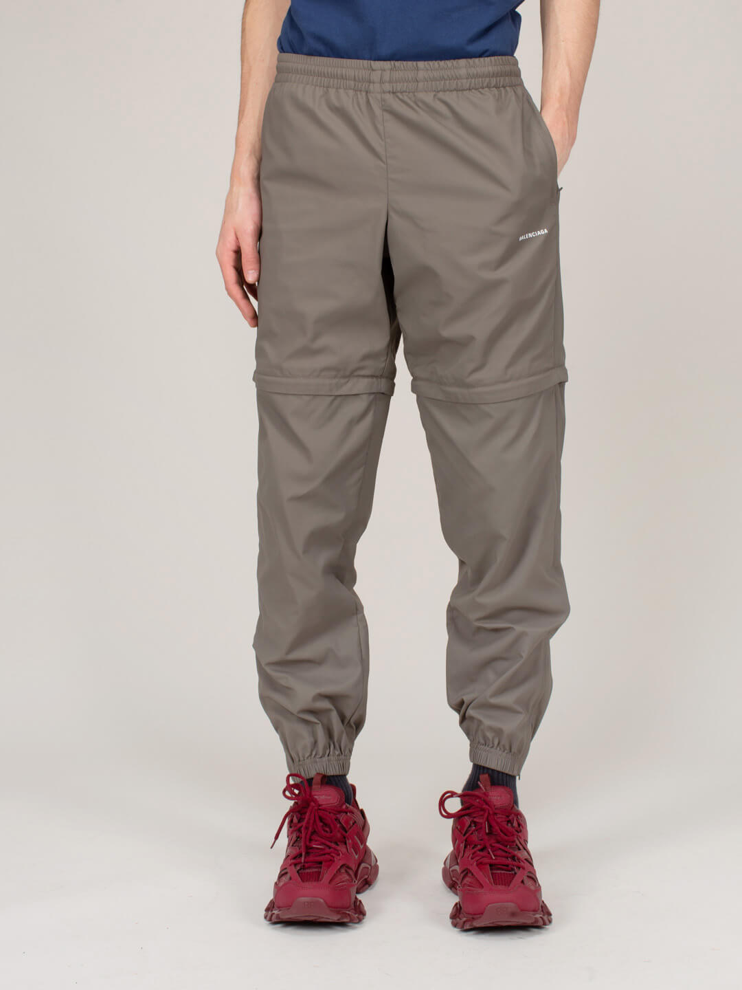 Balenciaga TRACKSUIT PANT THATCH BROWN