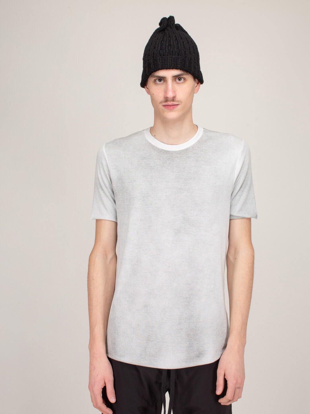 Thom Krom T-SHIRT WHITE CROSS