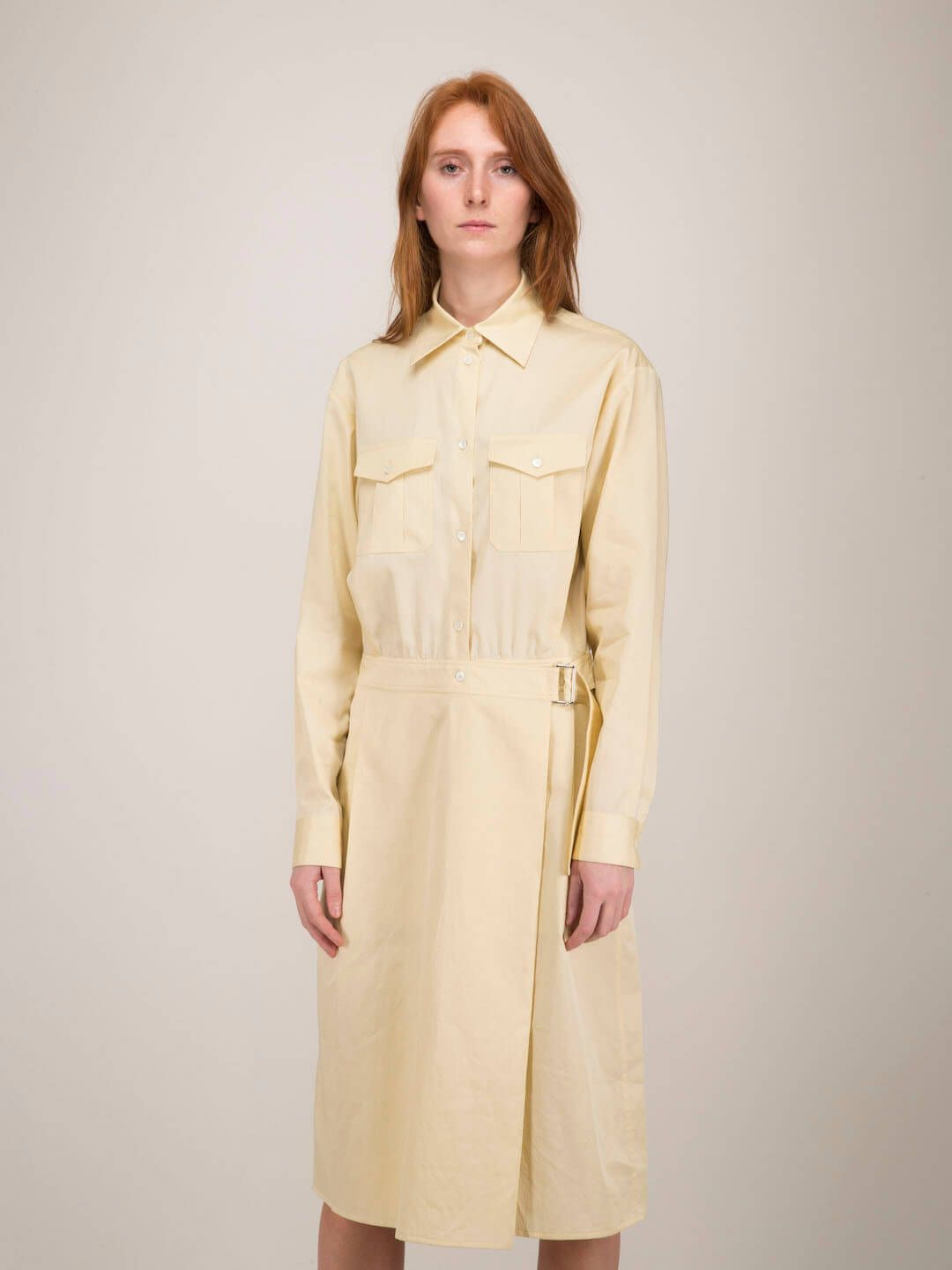 Lemaire 2POCKETS DRESS CREAM