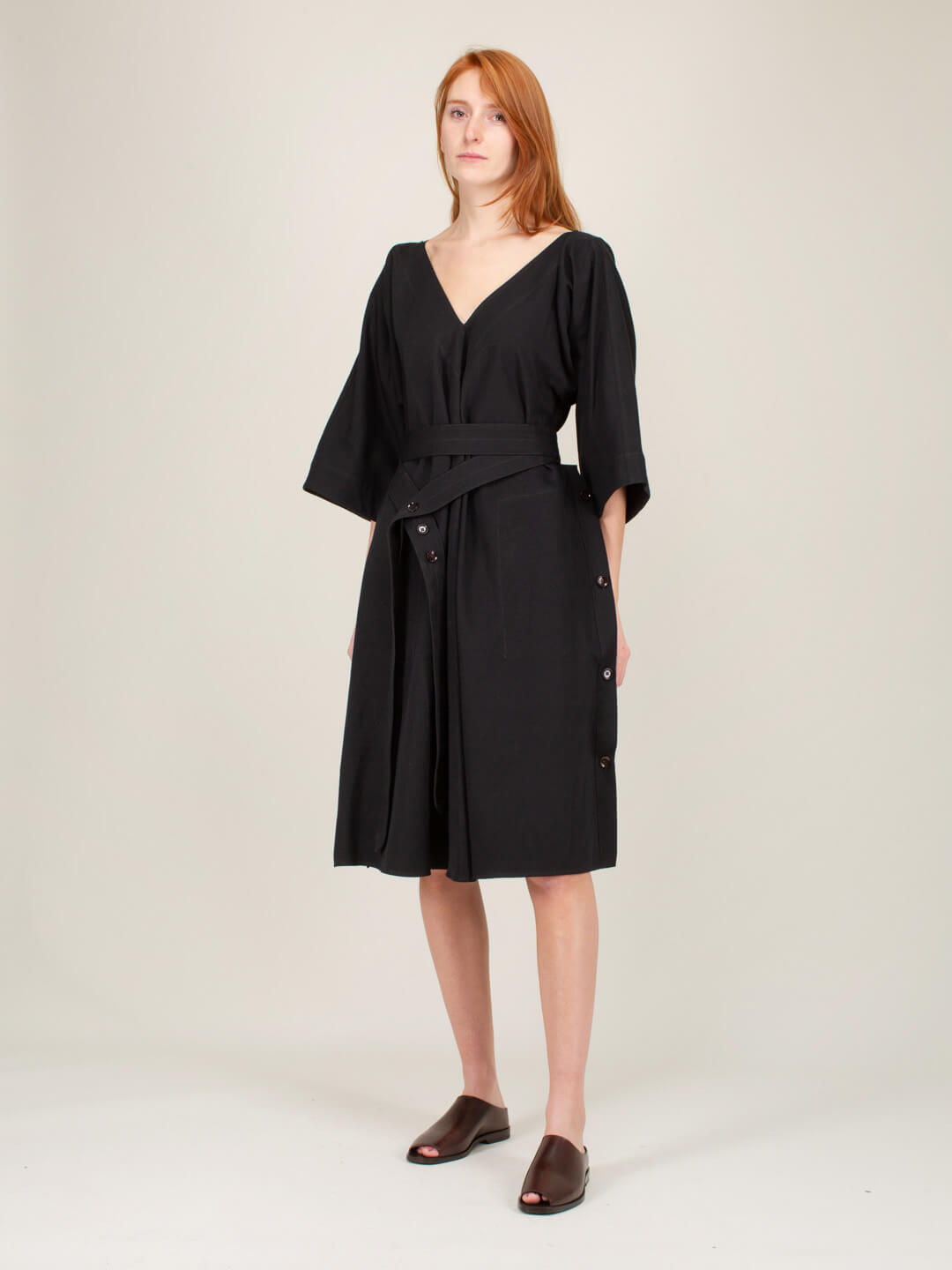 Lemaire VAREUSE DRESS BLACK