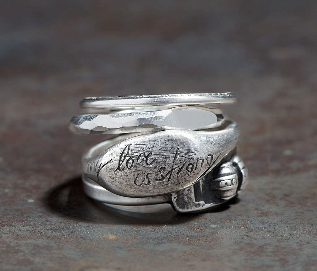 4 Ring Combination Love