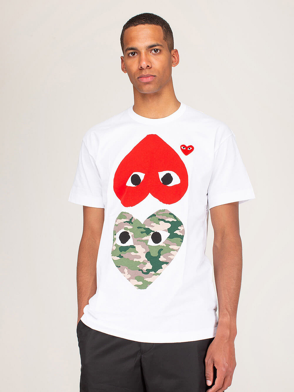 Shirt Double Red Heart Cargo