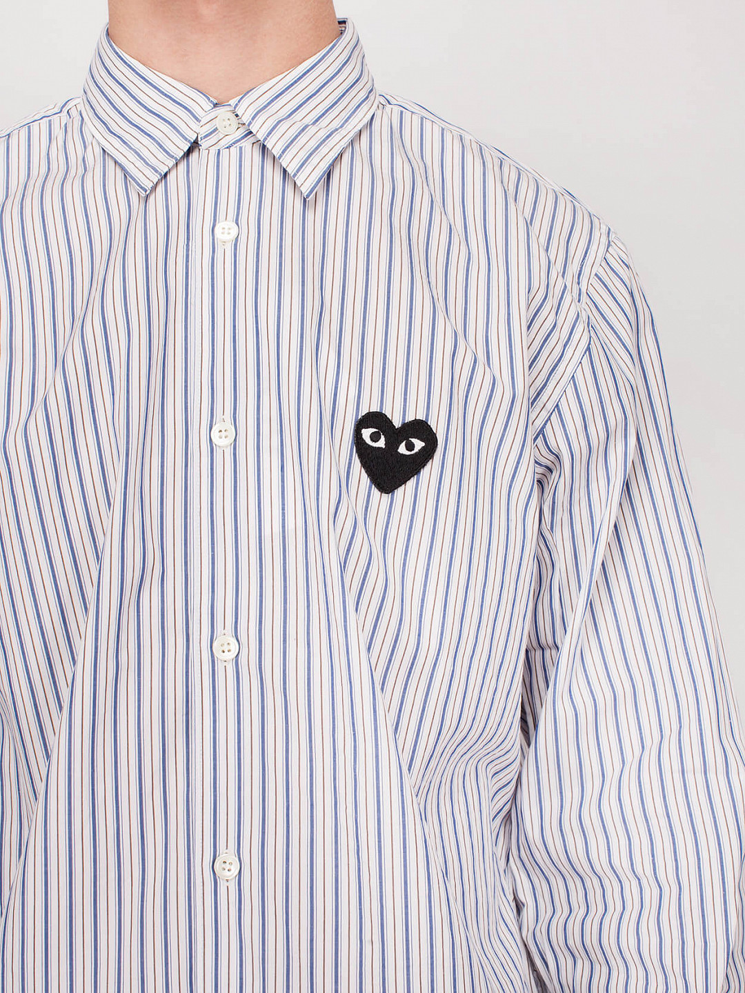 Shirt Stripe light blue