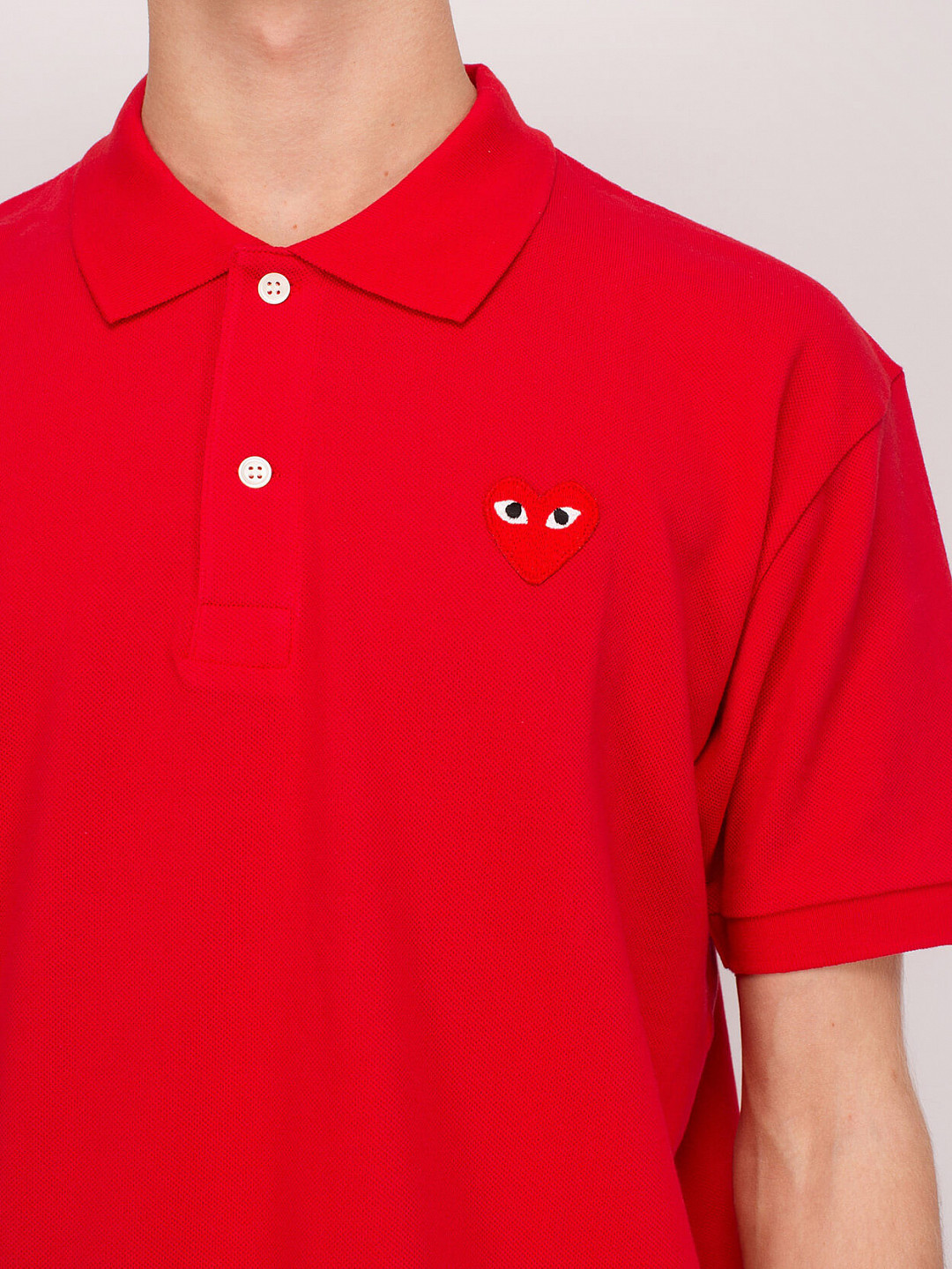 Polo Red Heart red