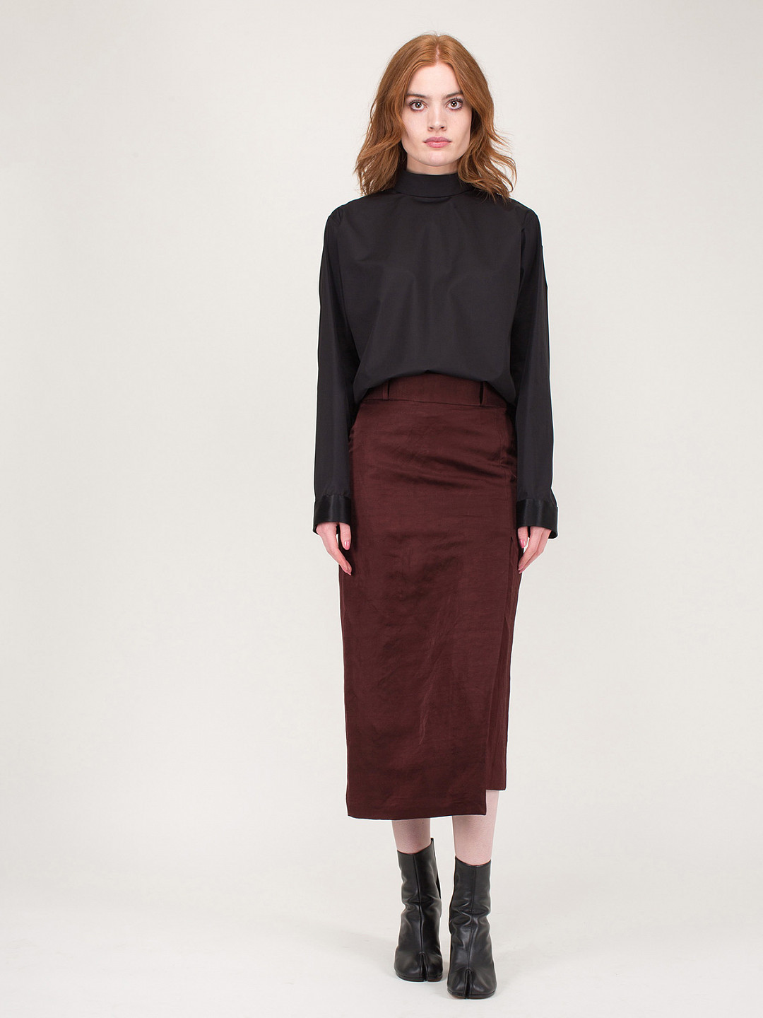 Pencil Skirt Amalfi Chocolat