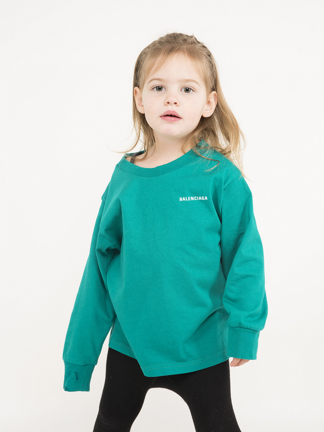 Kids Longsleeve T-Shirt green