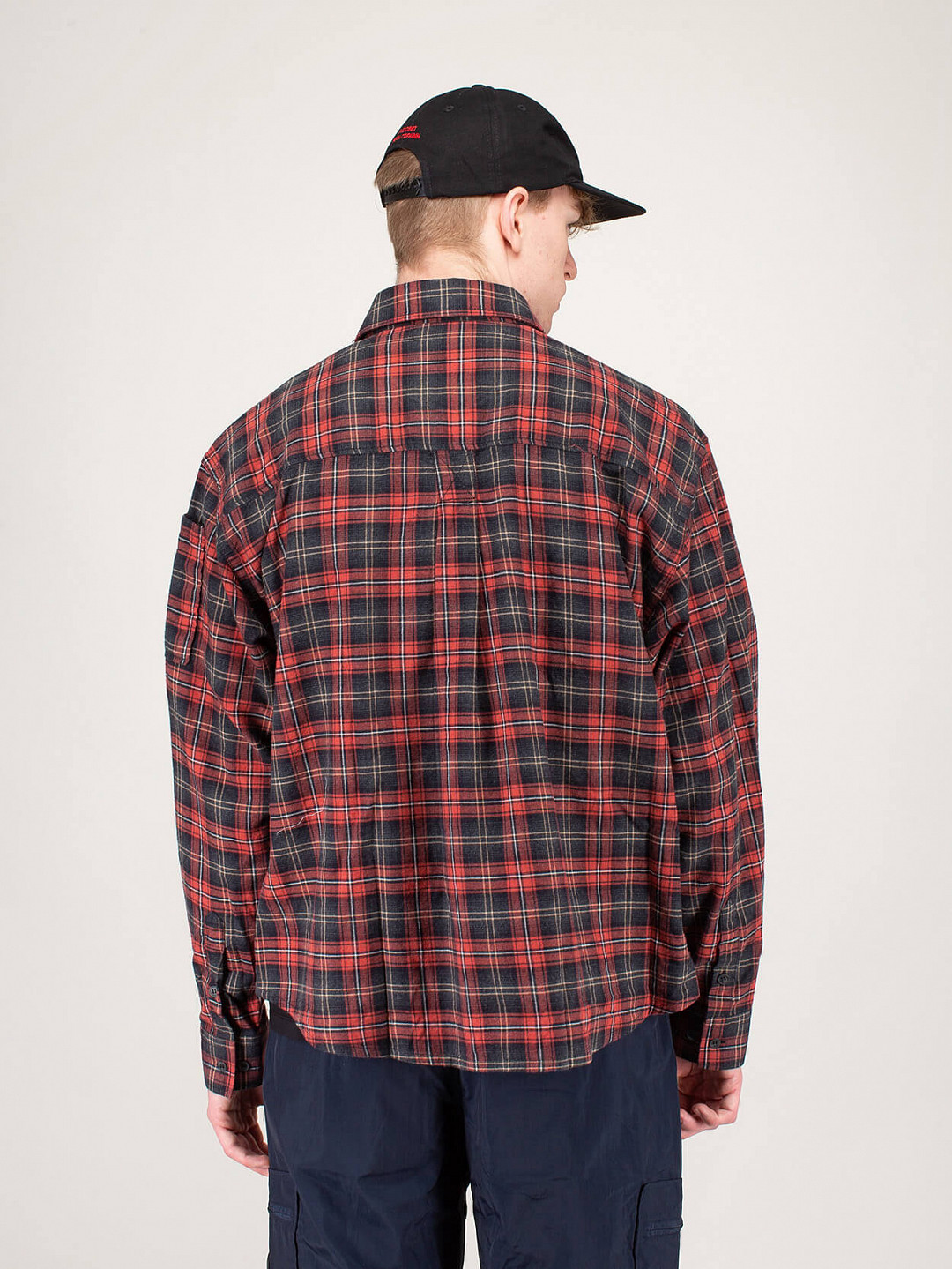 Flannel Shirt Red