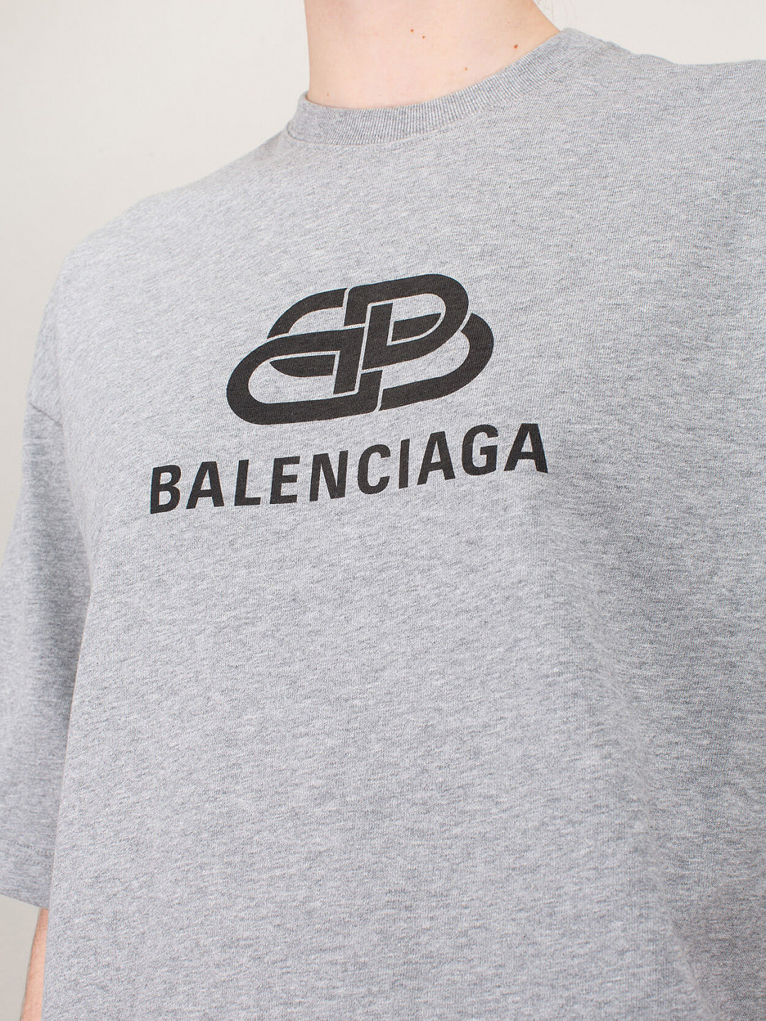 BB Balenciaga regular T-Shirt
