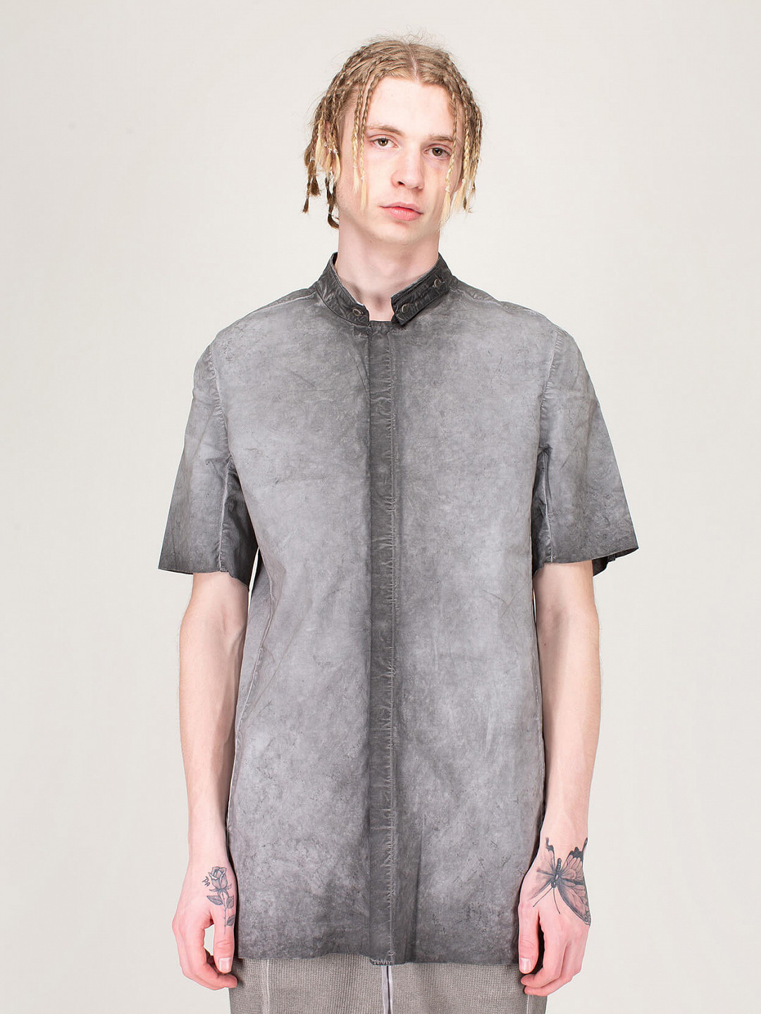 Faded Dark Grey Shirt