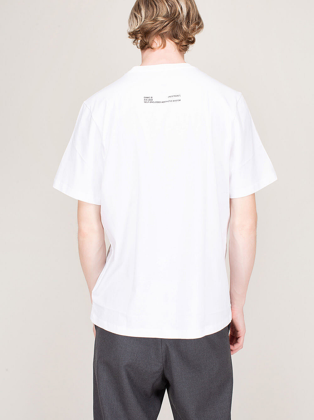 Salv Knitted T-Shirt white