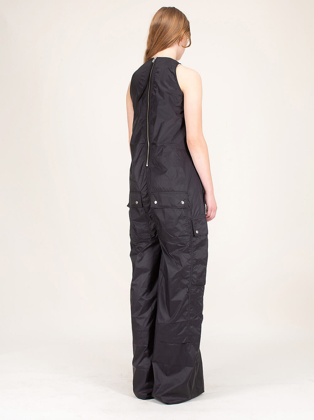 Nylon Tank Bodybag Jumpsuit black