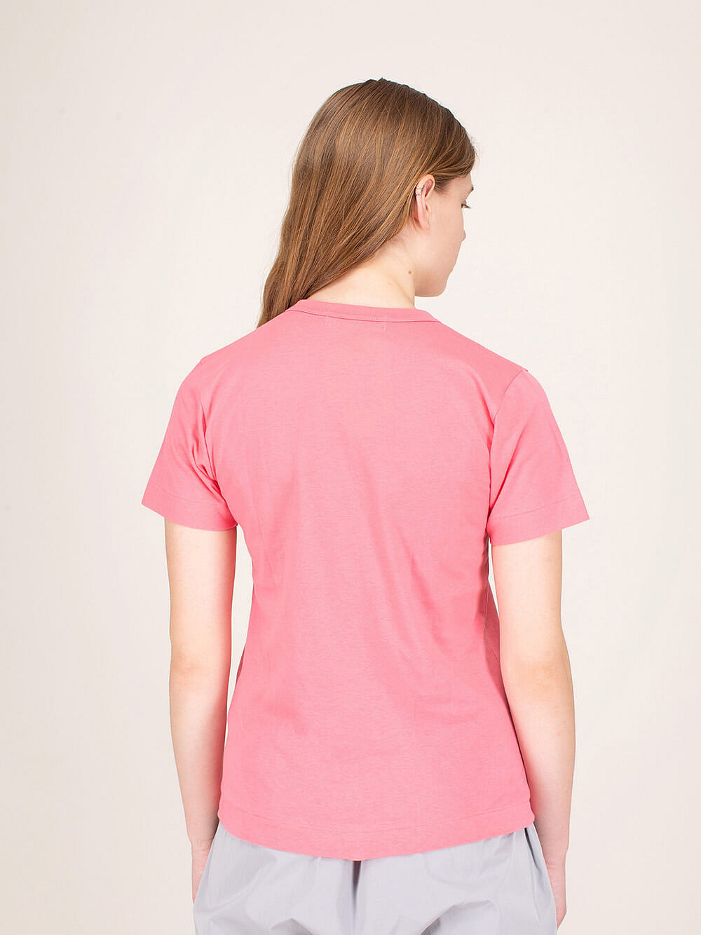 Ladies T-Shirt Polkadot pink