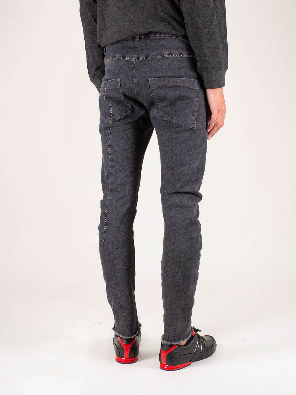 Men Trouser Woven light grey