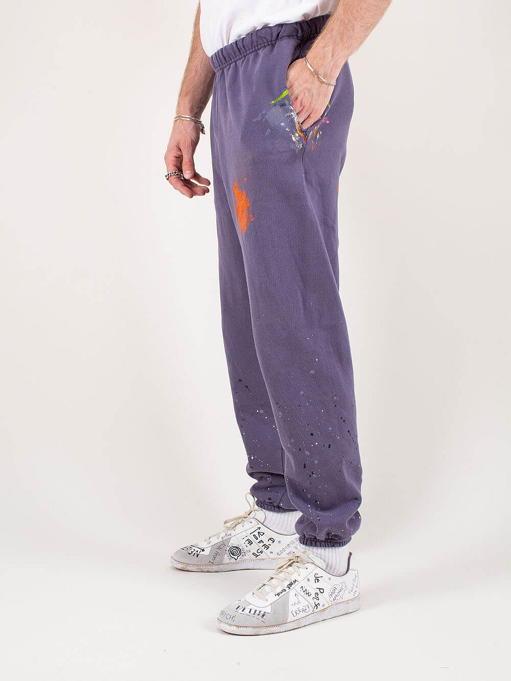 Sweatpants Painted navy
