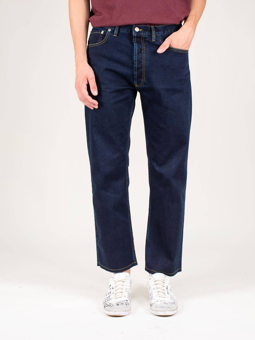 Denim 5 Pocket indigo blue