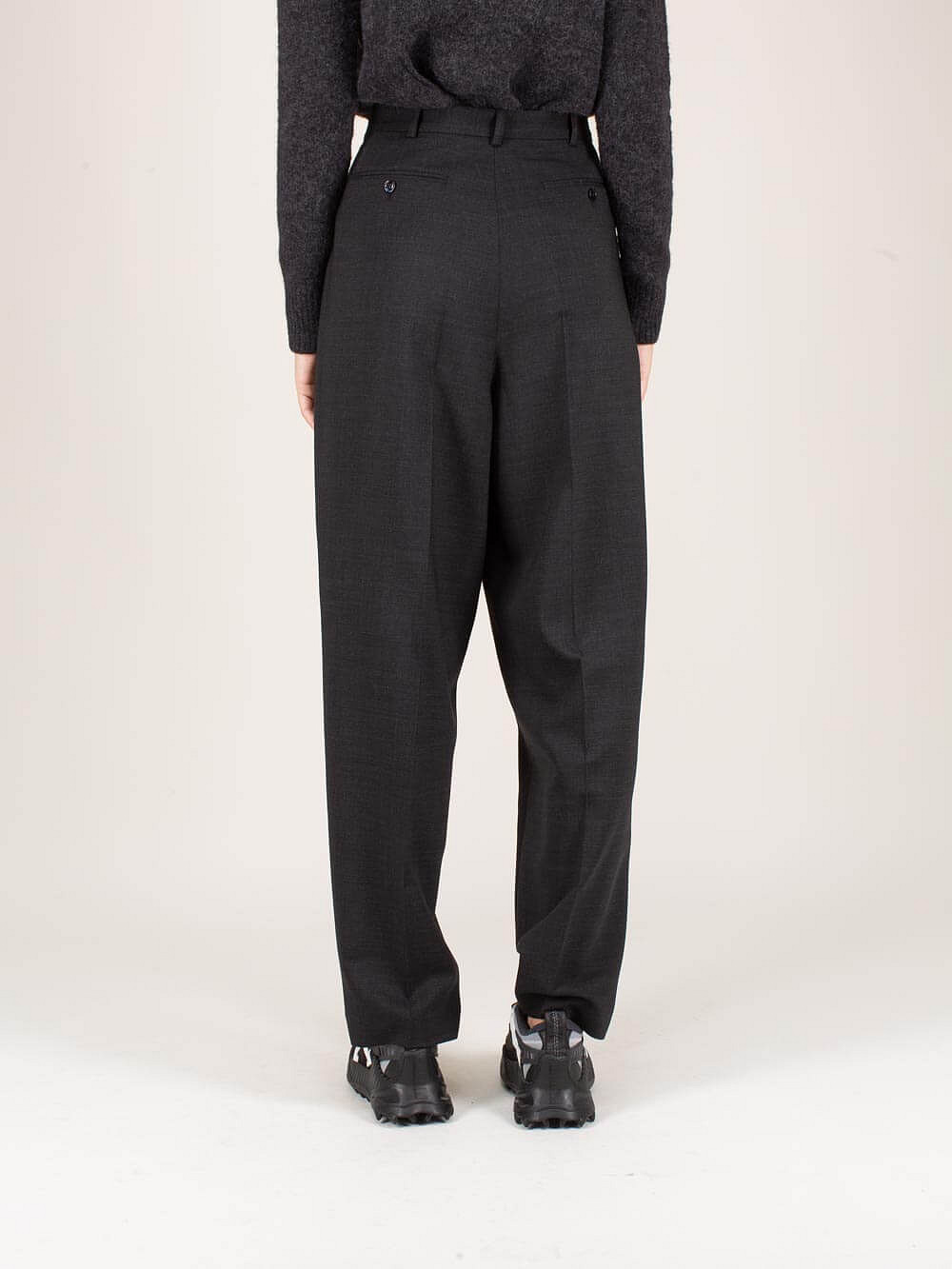Peggerine Double Suit Trousers charcoal