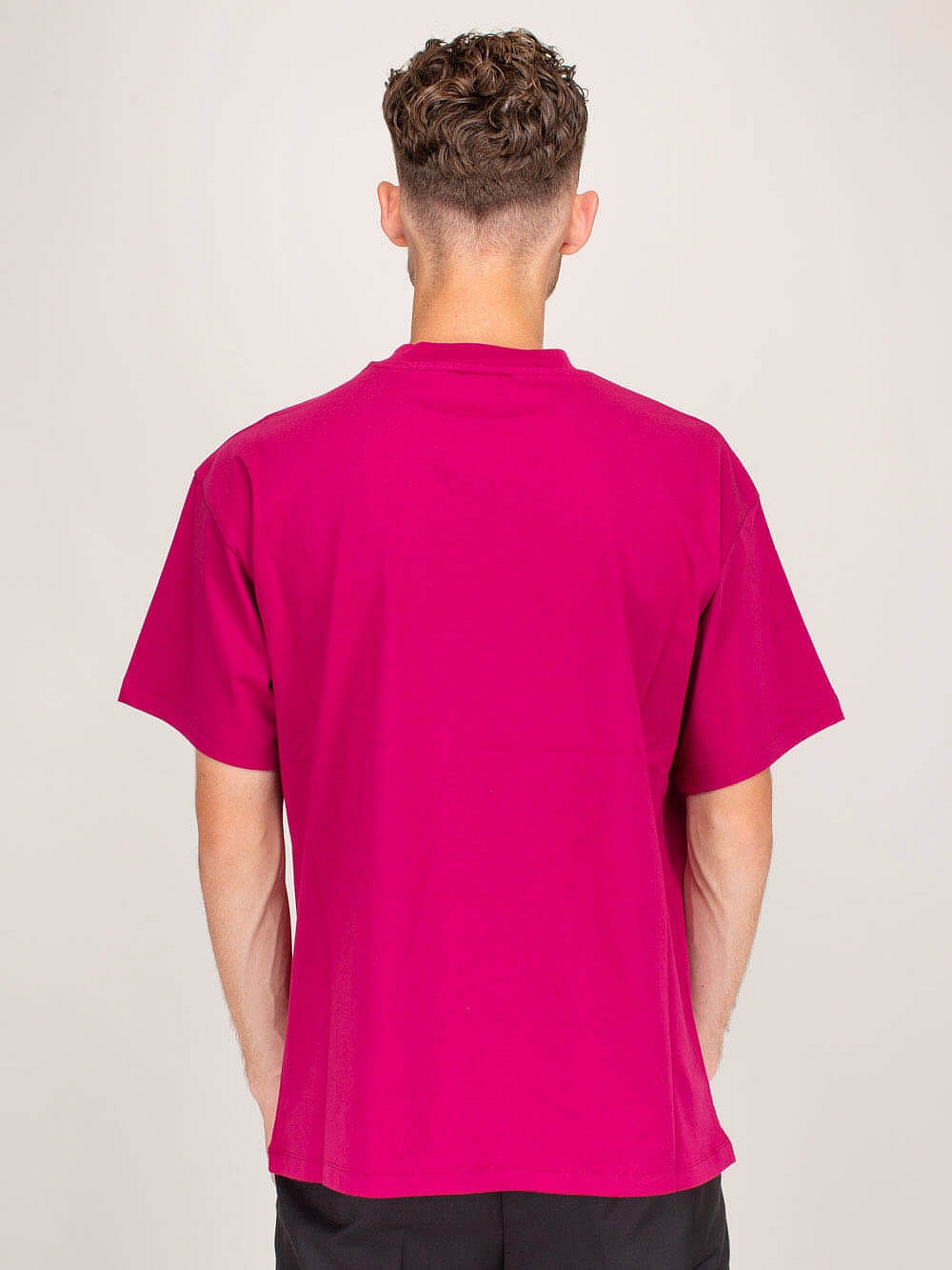 Be Yourself T-Shirt dark fucsia