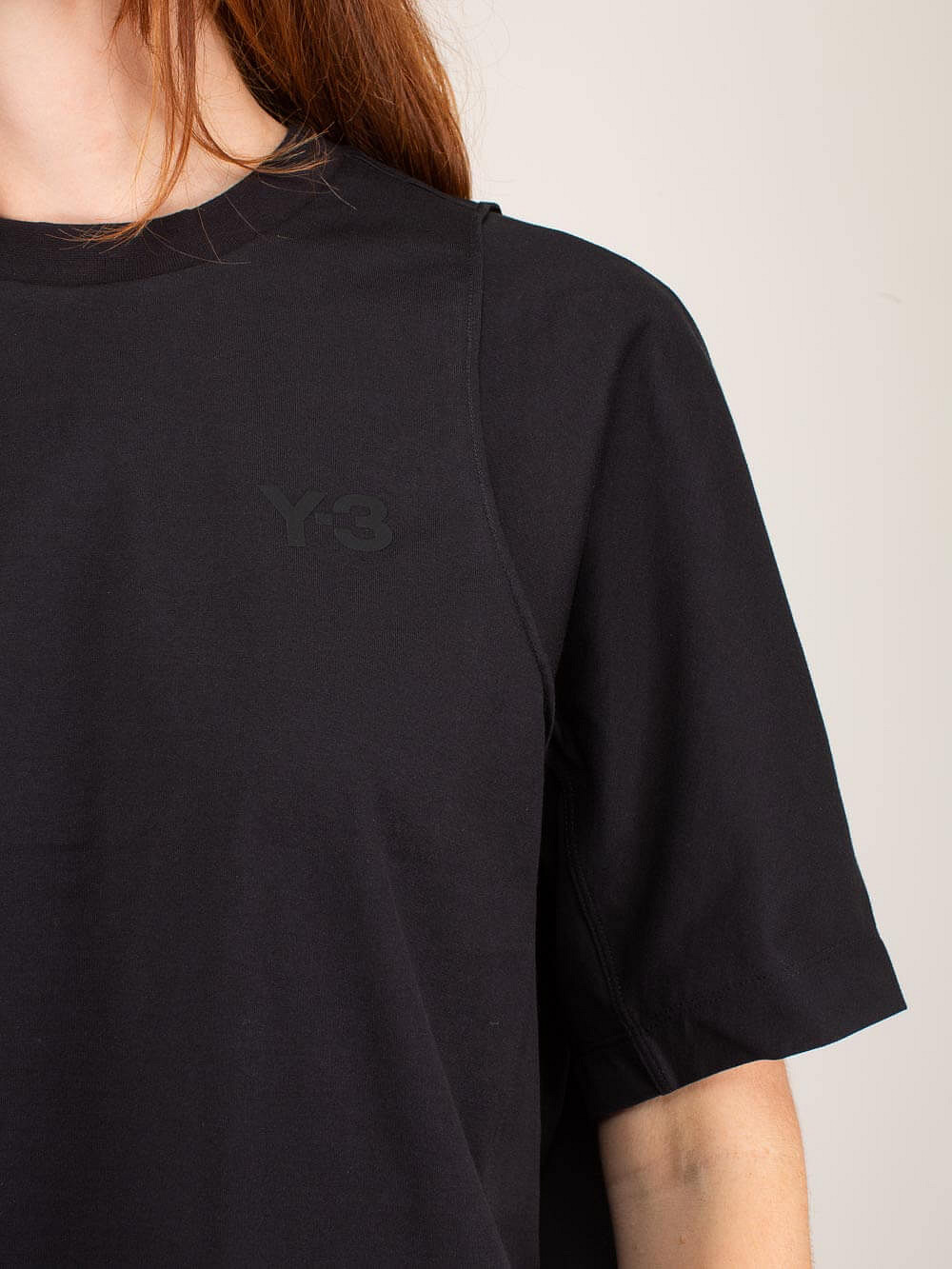 W CL TLR SS Tee black