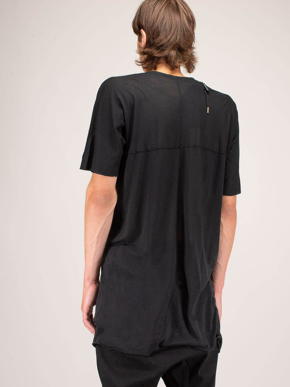 One Piece T-Shirt black dyed