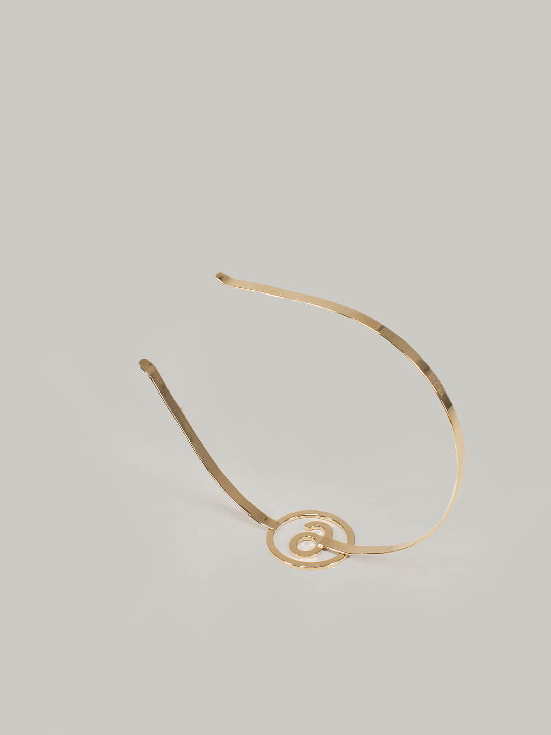 Hairband gold plated