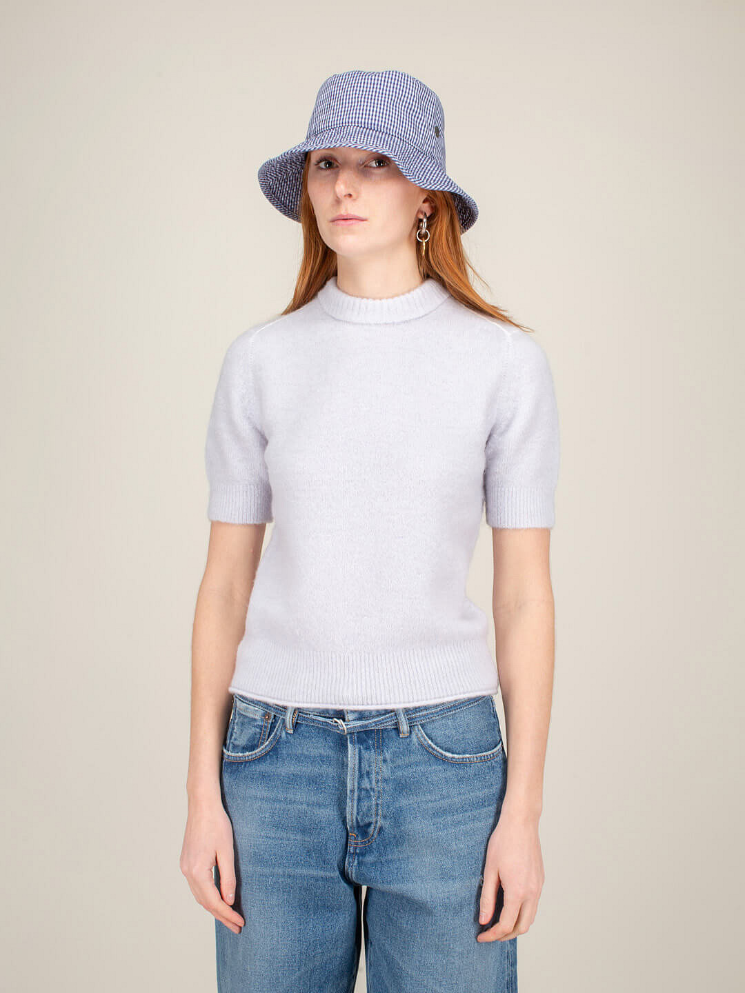 Knit Top ice blue
