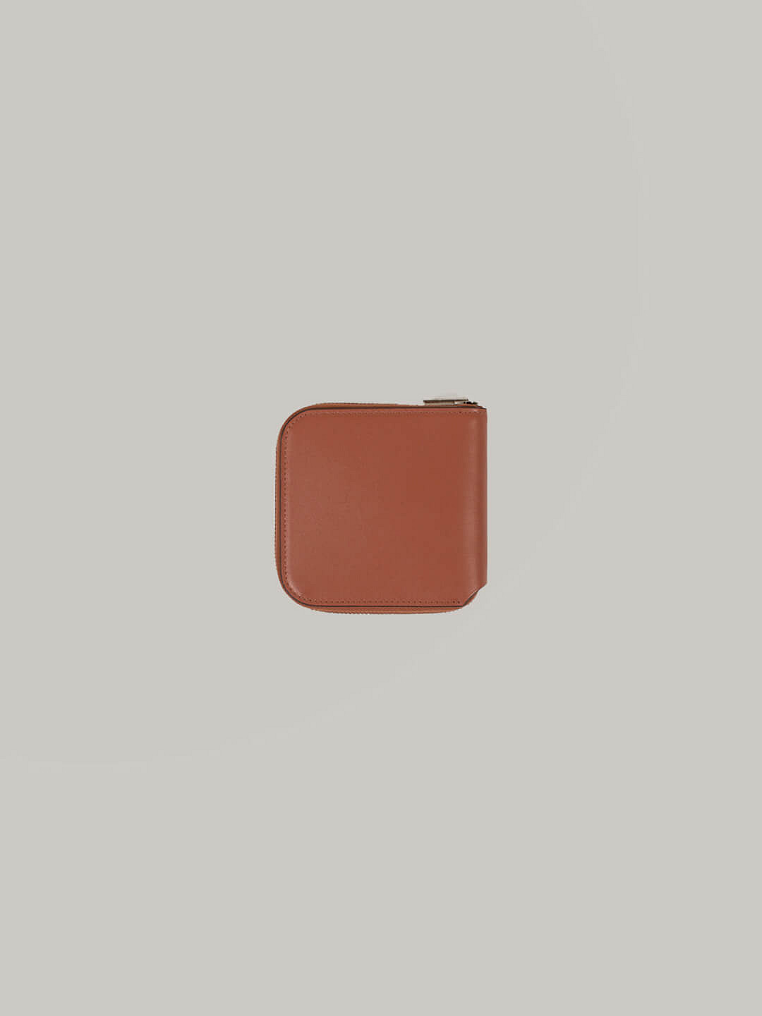 Small Leather Wallet brown