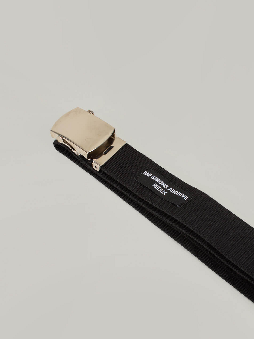 Woven Belt With Roll Buckle