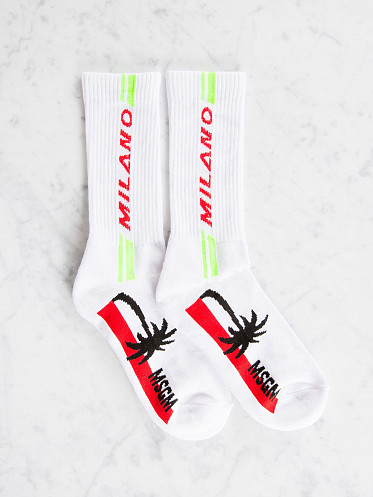 Socks Palmtree white