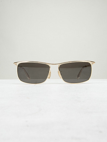 Sunglasses gold smoke