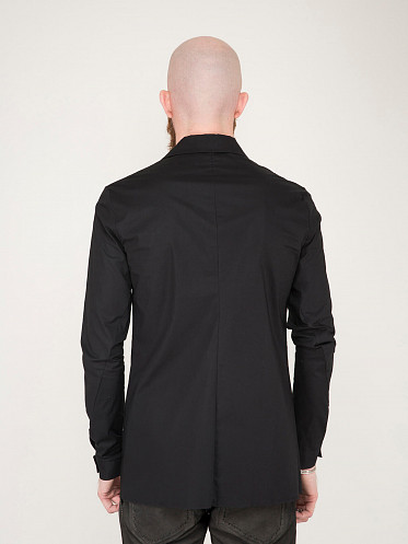Fitted Shirt black
