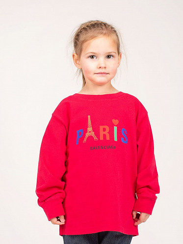 Kids Printed Paris T-shirt