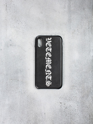 Vertical Logo Iphone Case XS