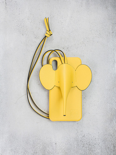 Elephant Iphone Cover XS MAX yellow