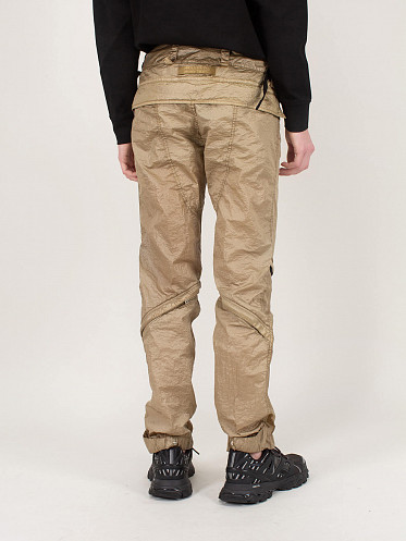 Dark Tam Zipped Pants