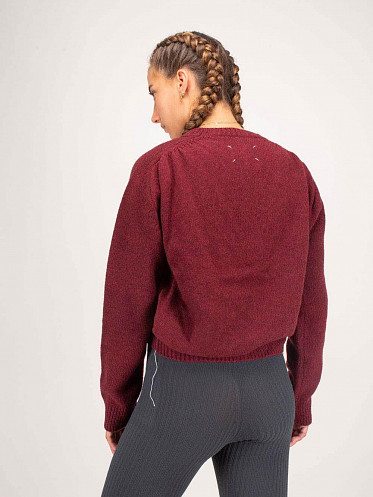 Sweater String red