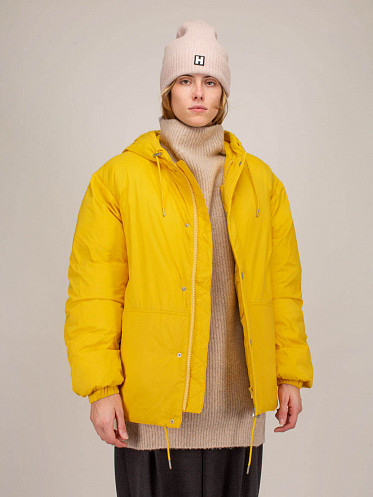 Puff Jacket yellow