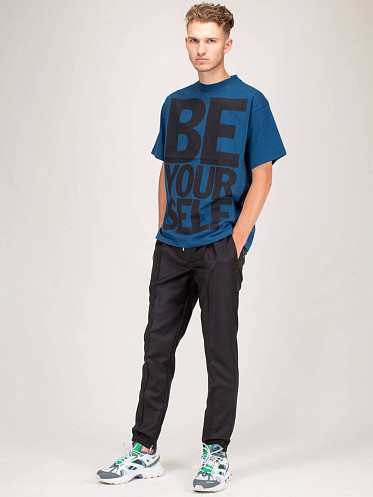 Be Yourself T-Shirt navy