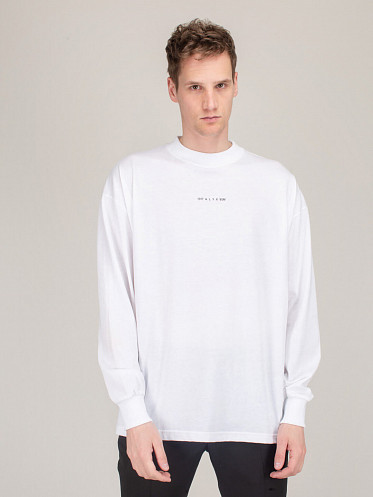 Visual Longsleeve Tee white