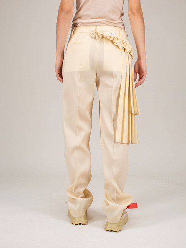 Gabard Curtains Panel Pant beige