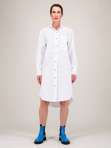 Harriet white Long Shirt