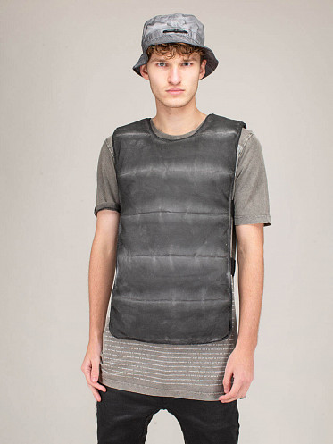 Vest dirty grey One Size