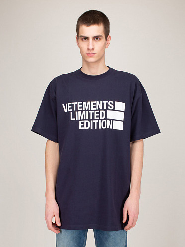 Big Logo Limited Edition T-Shirt navy