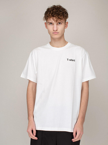 Definition T-Shirt white