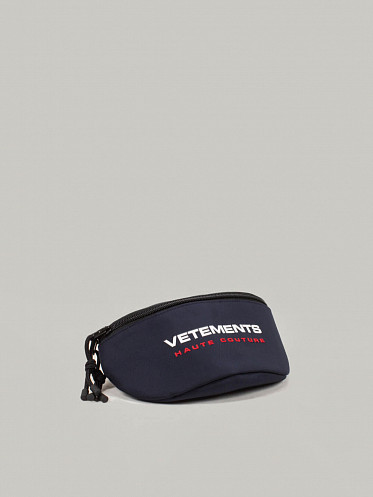 Logo Haute Couture Fanny Pack navy