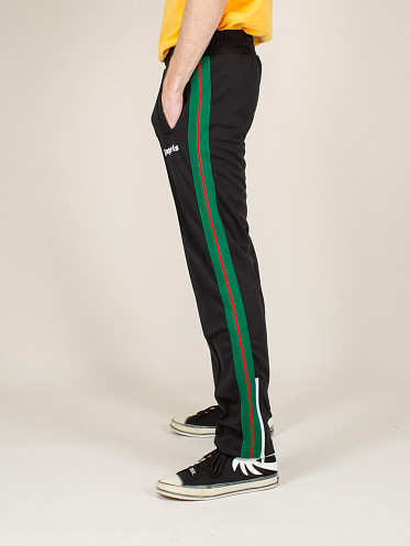 College Track Pants black green red
