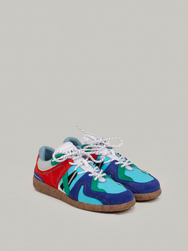 Sporty Mix Sneakers sky captain