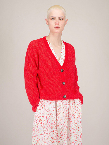 Soft Wool Knit flame scarlet